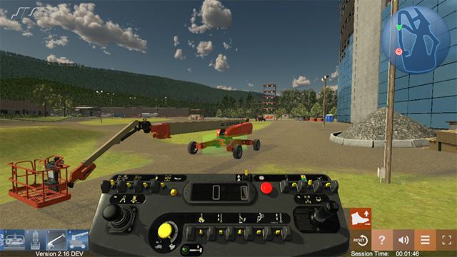 JLG Industries Equipment Training Simulator