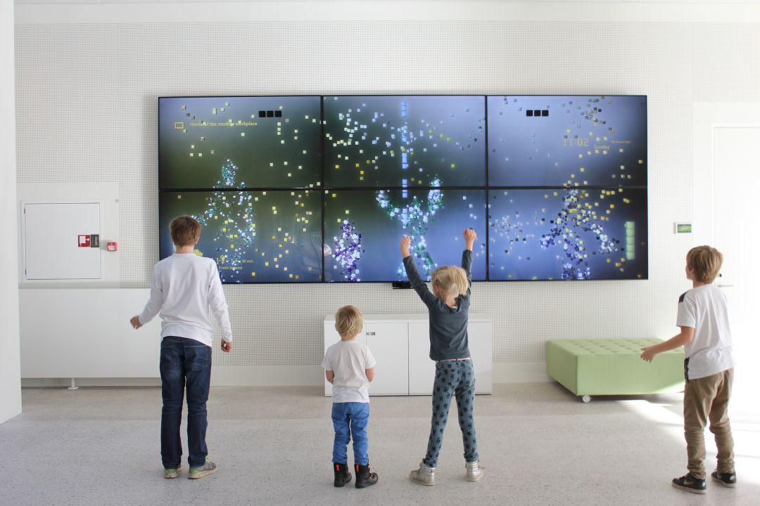 Microsoft Denmark - Interactive Installation