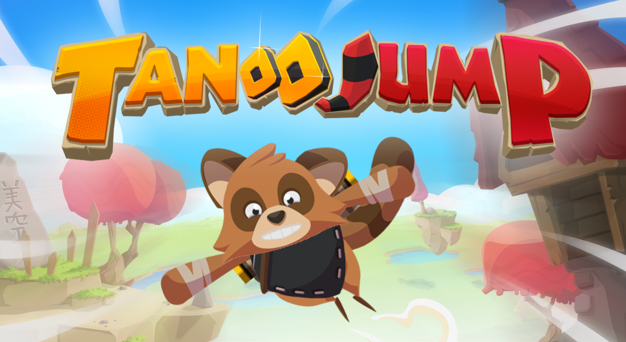 TANOO JUMP - A cartoon arcade game
