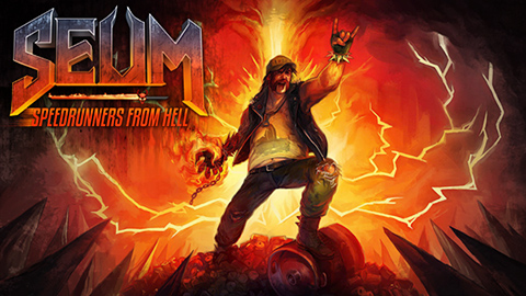 """SEUM: Speedrunners from Hell"" is now available on Steam!"