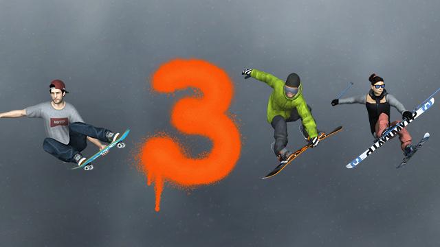 MyTP 3 - Snowboard, Freeski and Skateboard