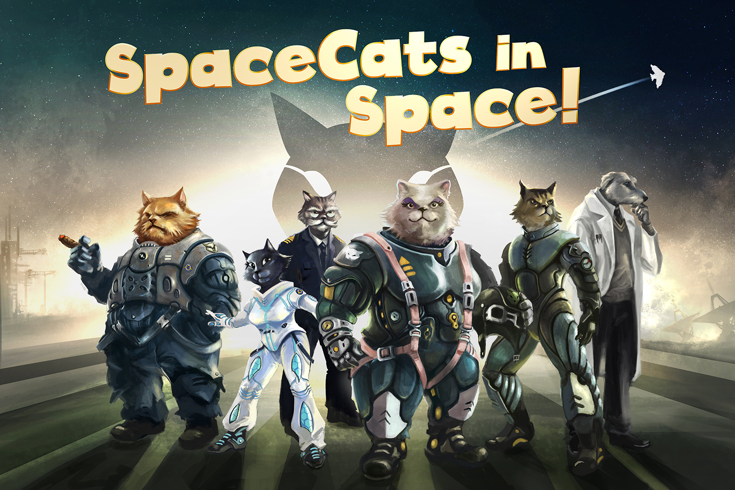 Space Cats In Space!