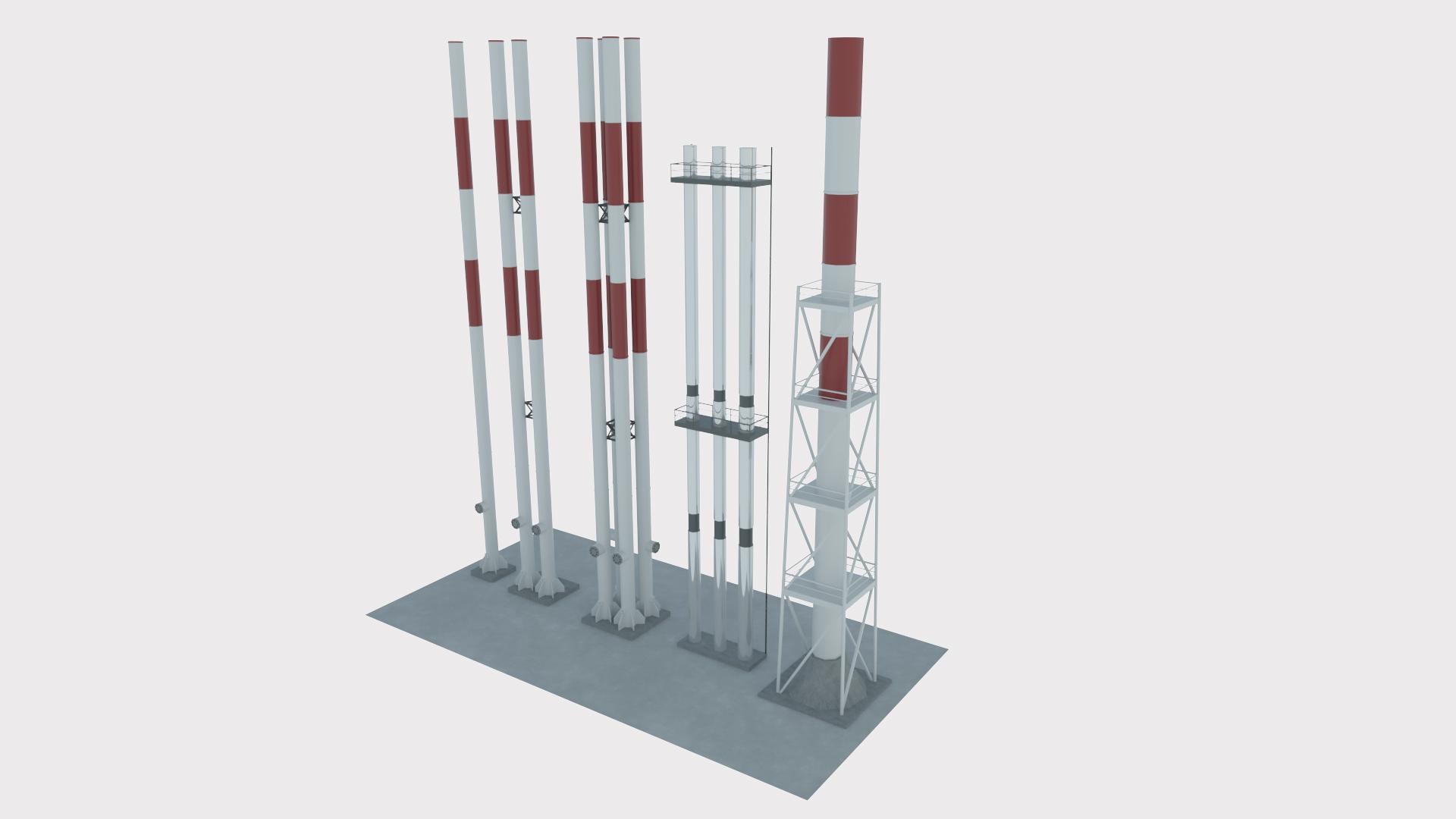 Factory tubes set