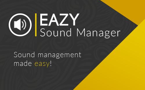 Eazy Sound Manager