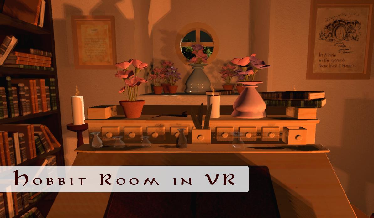 Hobbit Room in VR