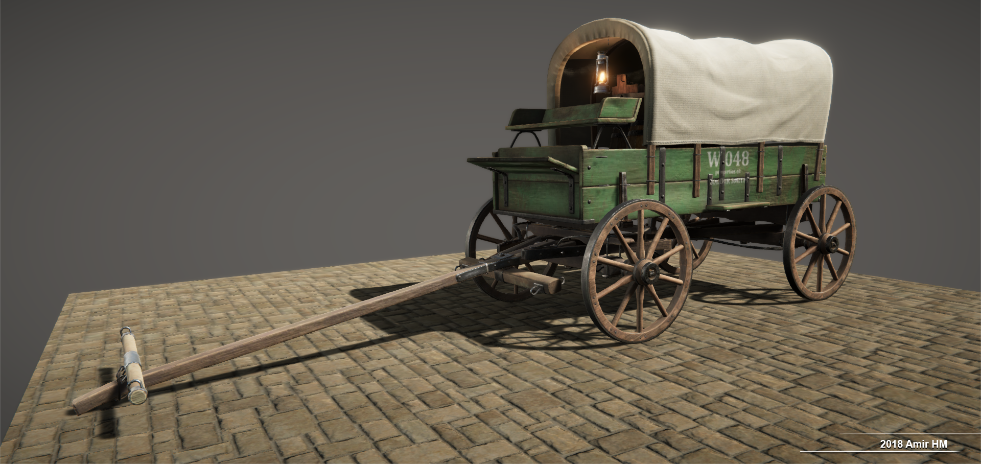 Wild West realtime props model