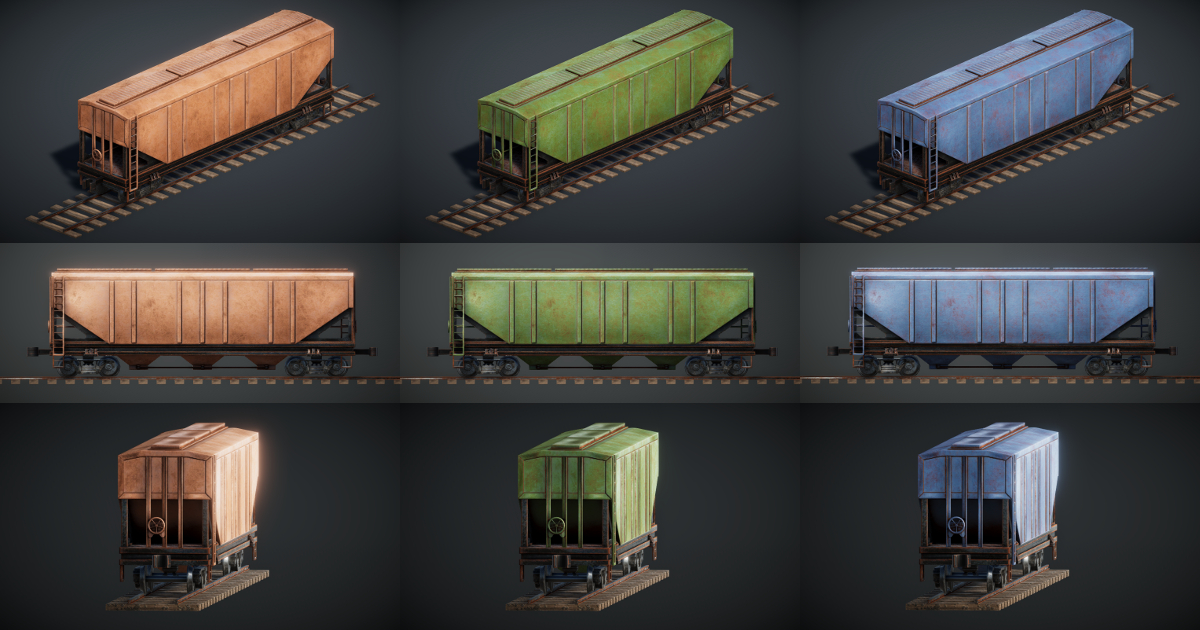 Train Controller Addon 3 - Bulk Grain Wagon