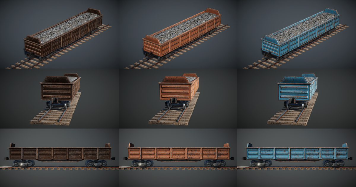 Train Controller Addon 2 - Gondola Wagon