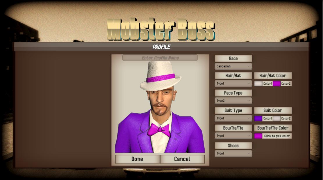 Mobster Boss