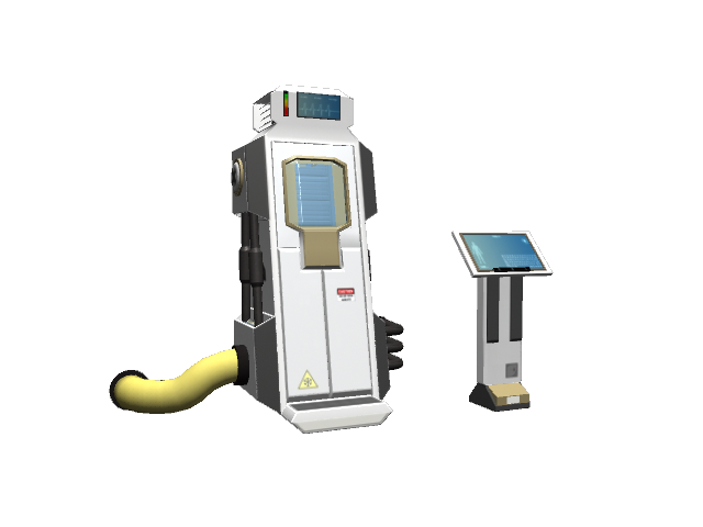 SciFi Cryo Pod(freelance work)