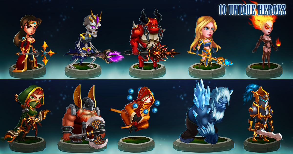 2D Hero Characters Bundle