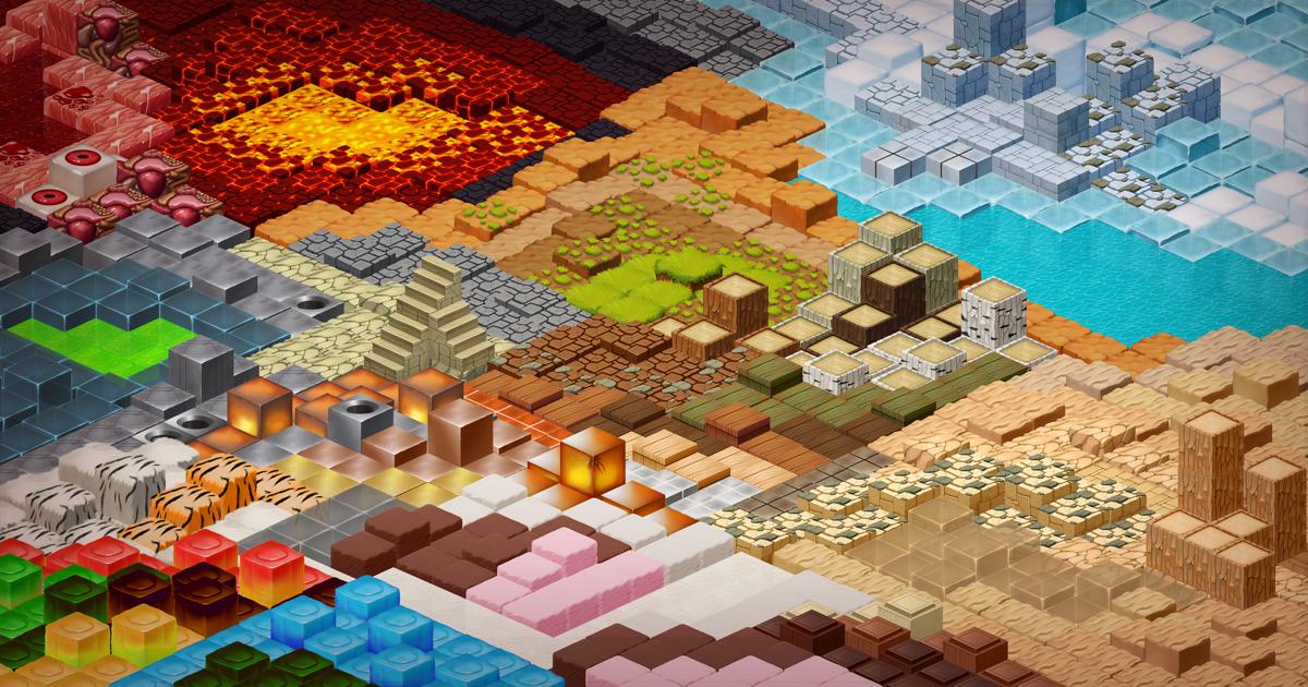 2D Tiles - Isometric Tileset Pack