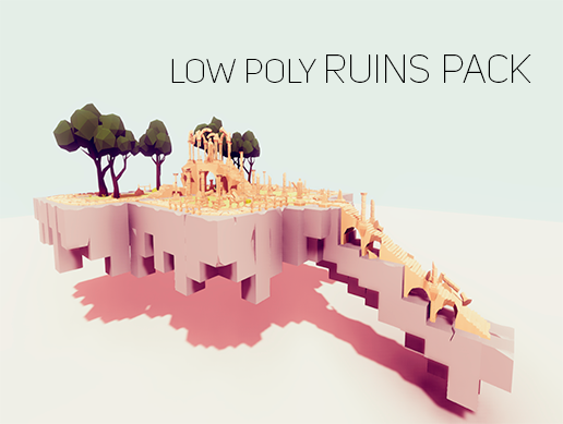 Big Low Poly Asset Pack