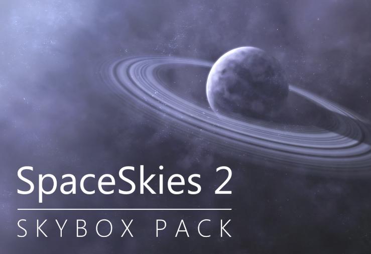 SpaceSkies 2 Skybox Pack
