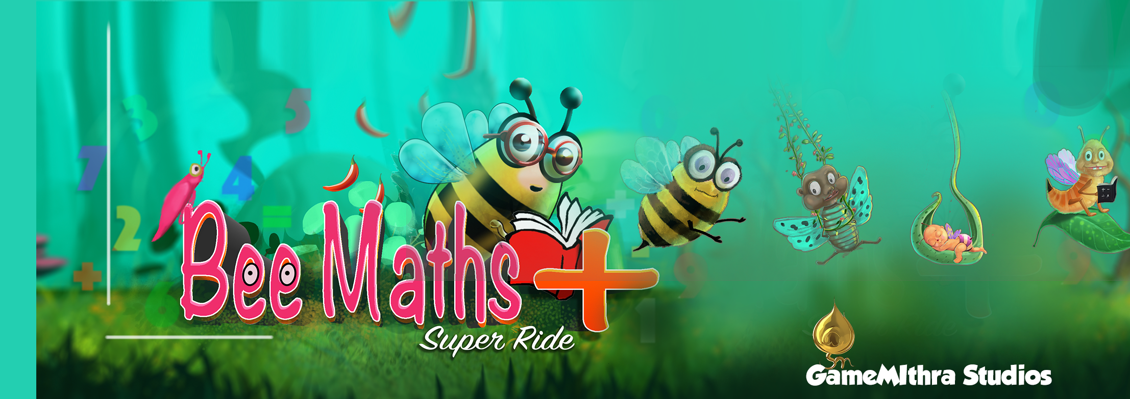 BeeMaths Super Ride