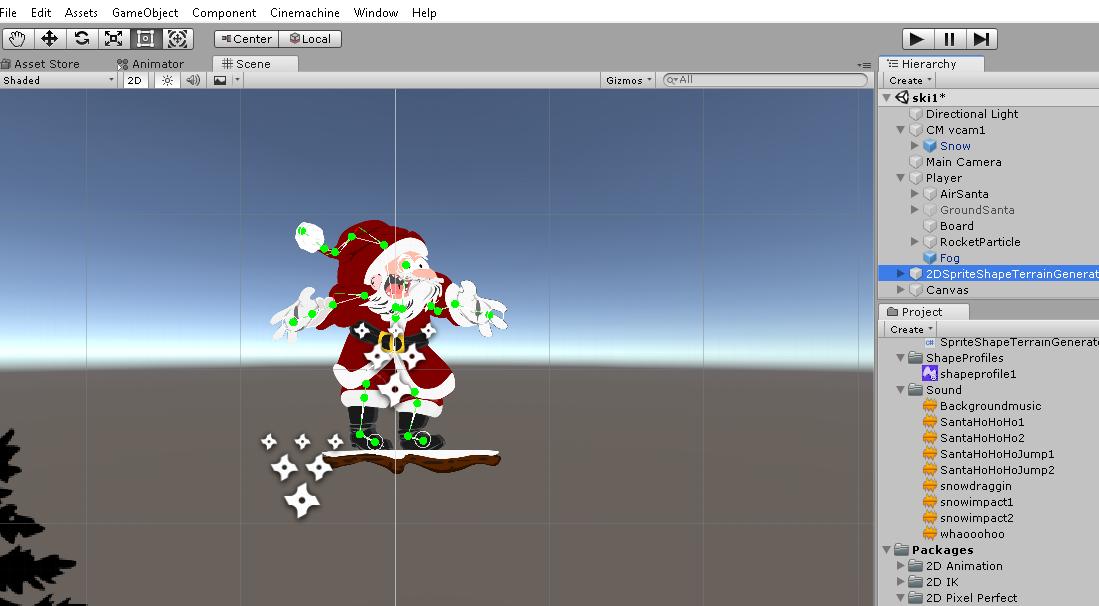 2D IK, 2D Animation & Spriteshape generator