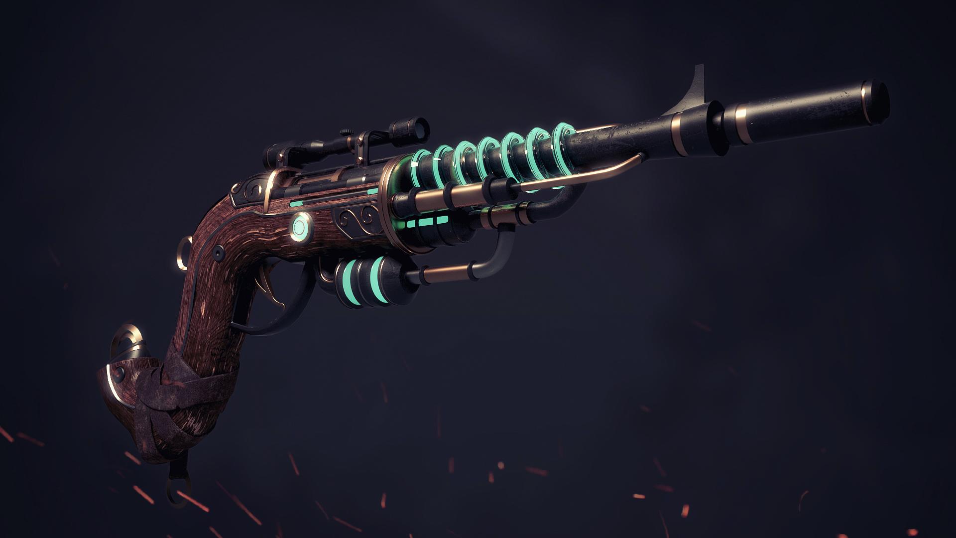 Steampunk Gun...