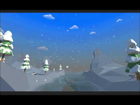 Snowy 3D Scene (Level Design from Scratch)