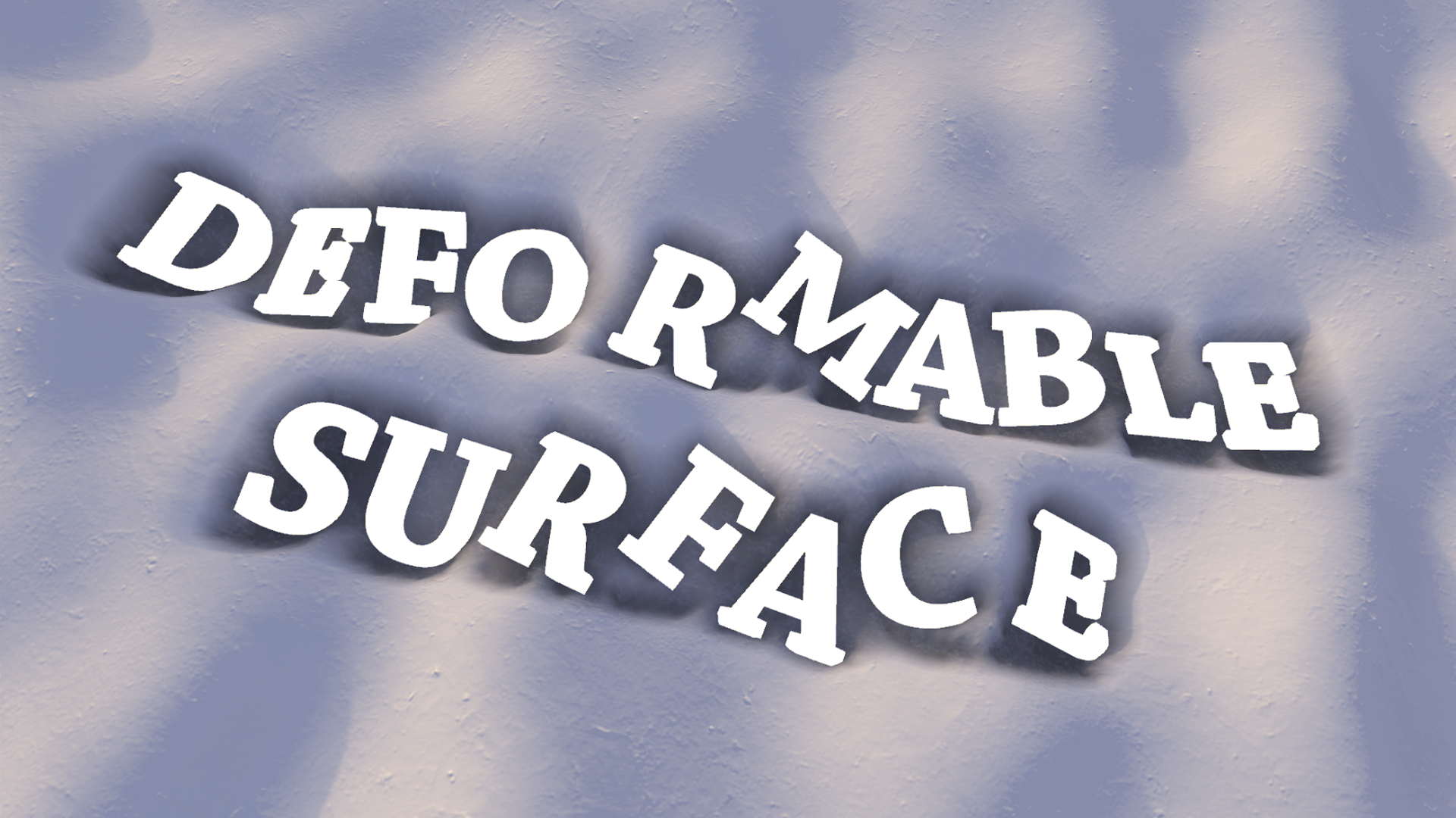 Deformable Surface 2.0