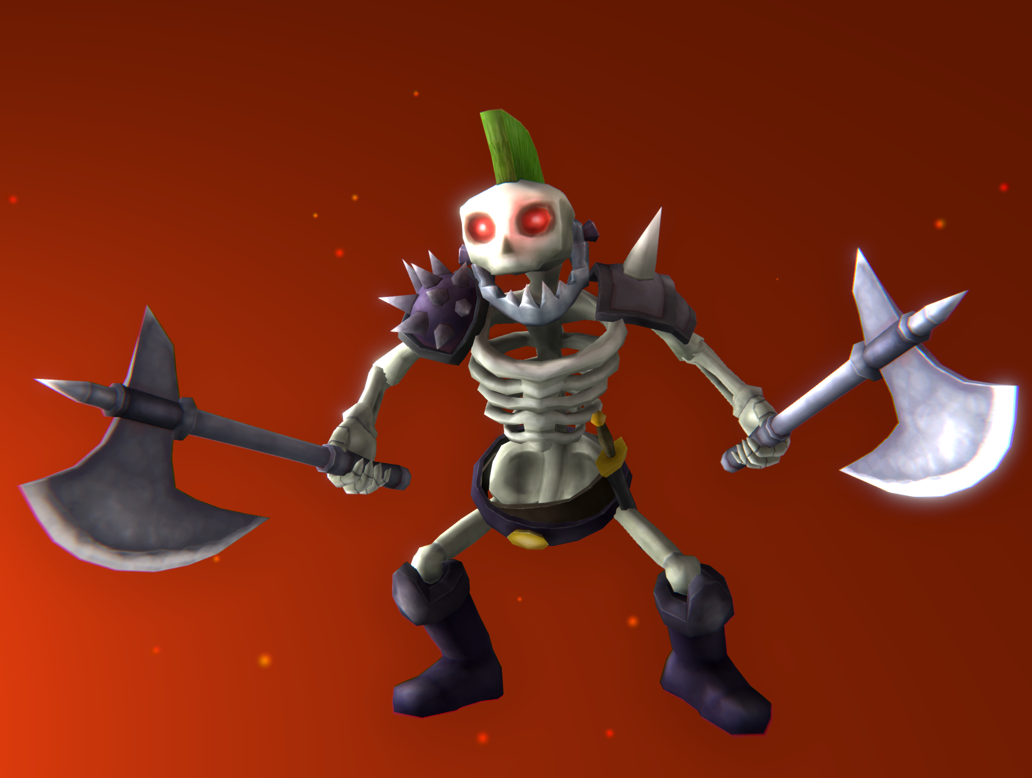 Skeleton Outlaw - FREE at Unity Asset Store!