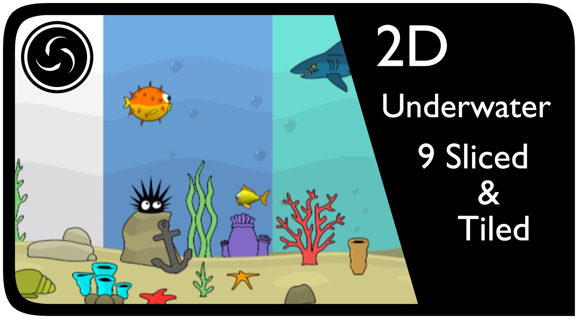 2D Underwater World