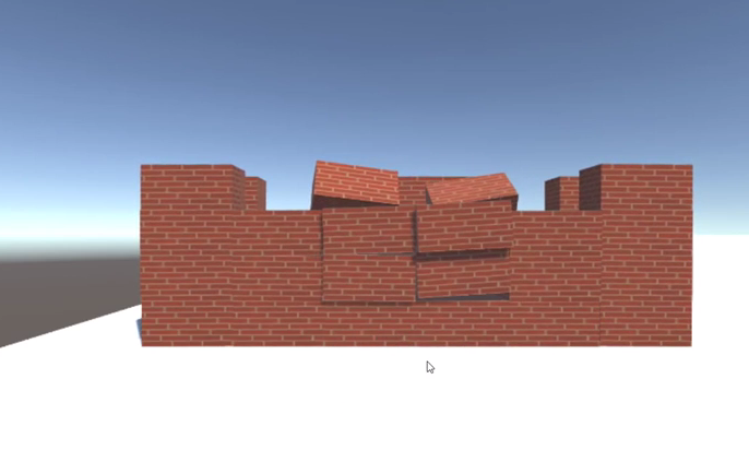 Destructible Building Tutorial using C#.net and Unity 2018