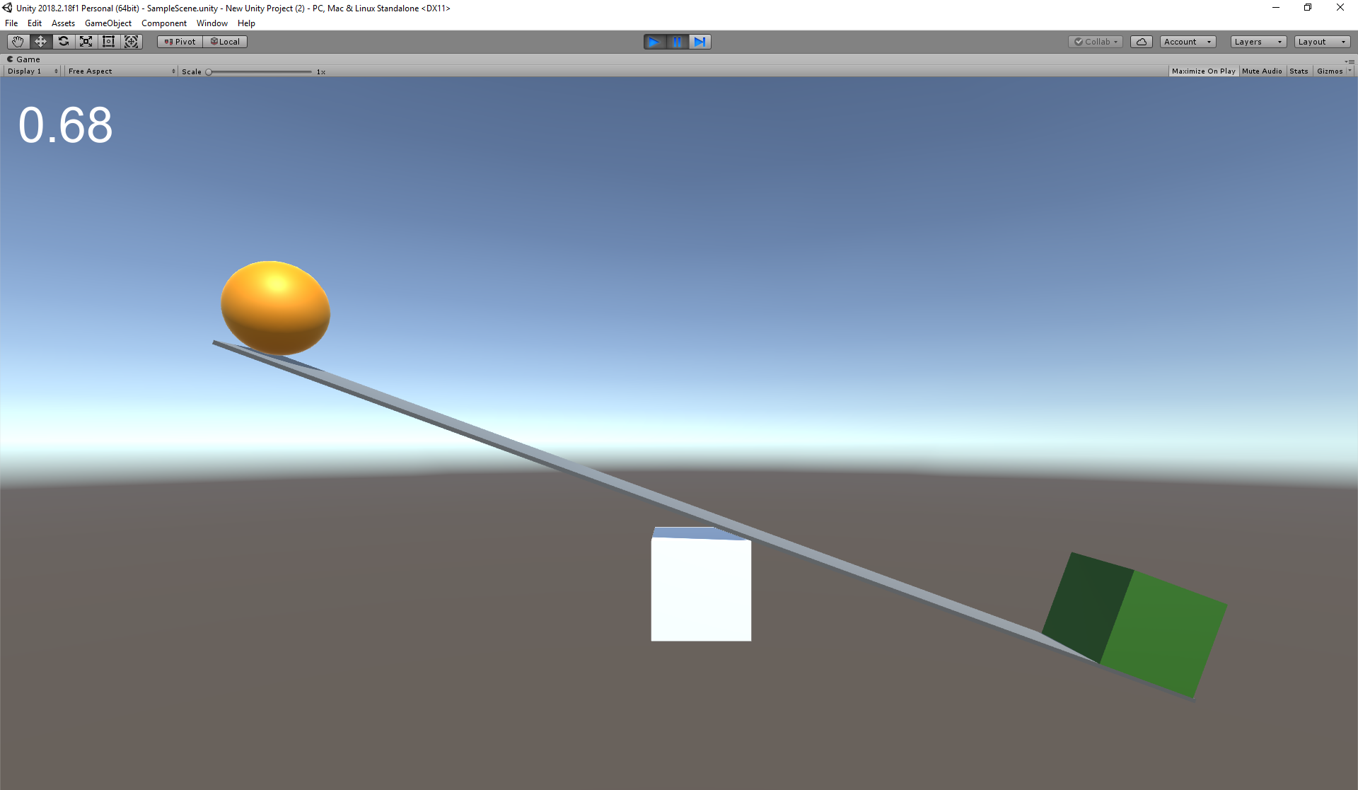 Balance simulator