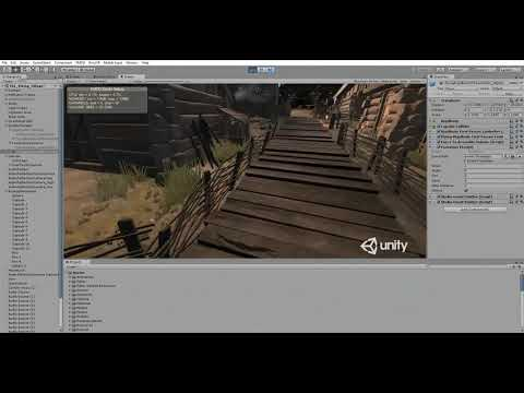 Footsteps SFX pack 1 in Viking Village (DEMO)