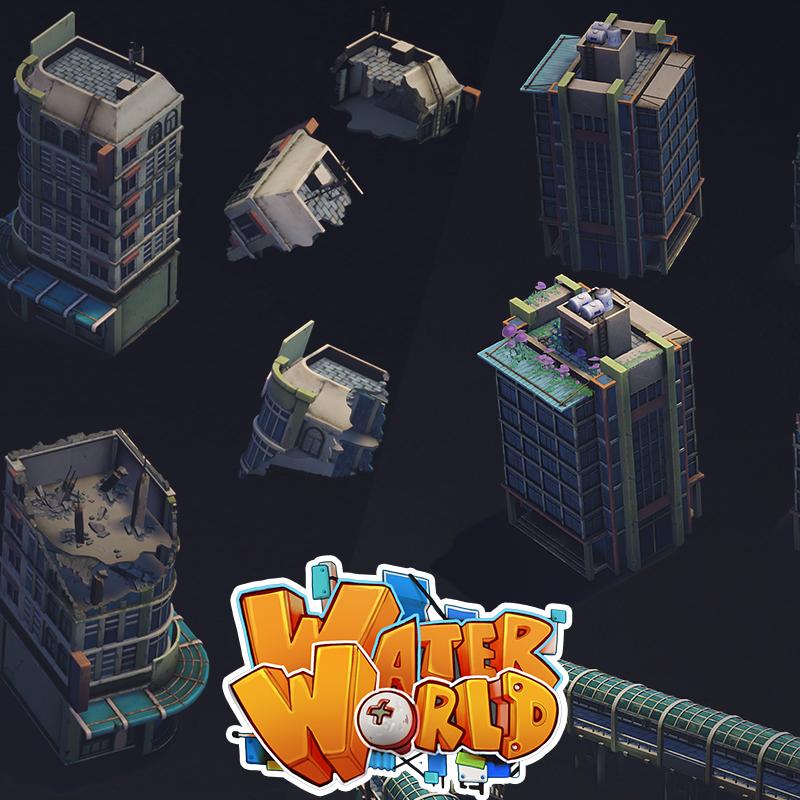 WaterWorld - Submerged City Modular Part 1