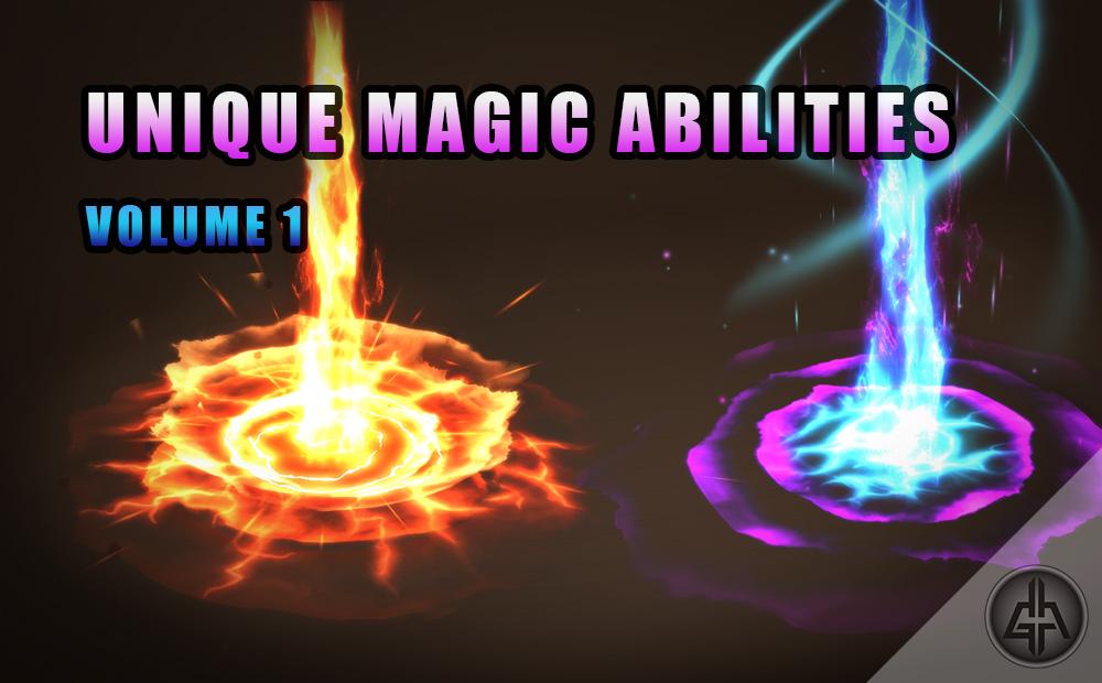 Unique Magic Abilities Vol.1