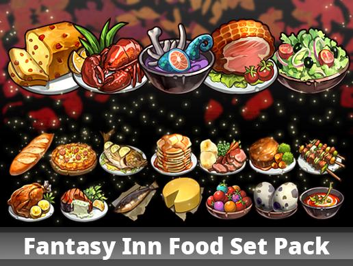 Fantasy Inn Food/ Drink Set Pack