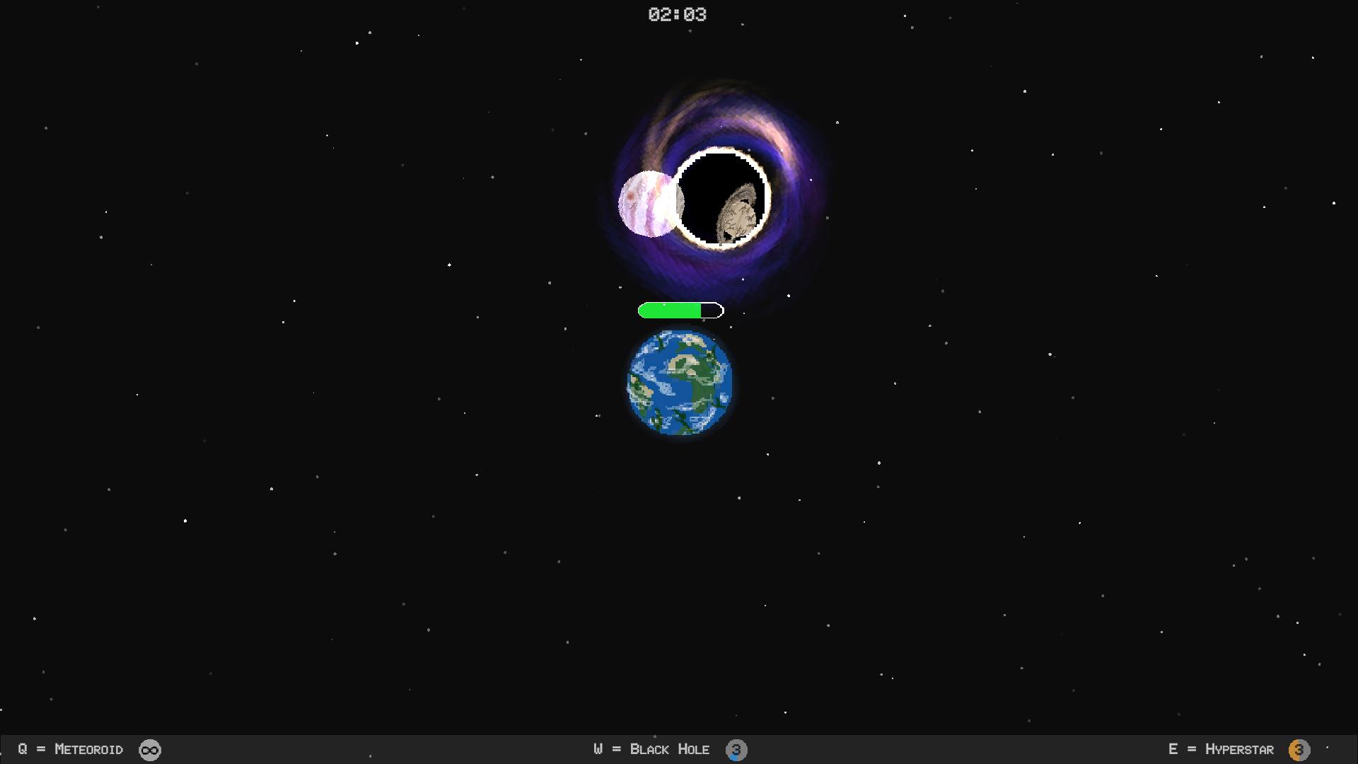 Shrinking Universe - Game Jam