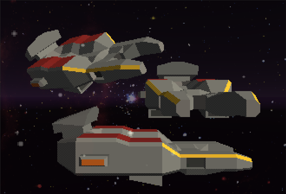 Space Rail Shooter - Models