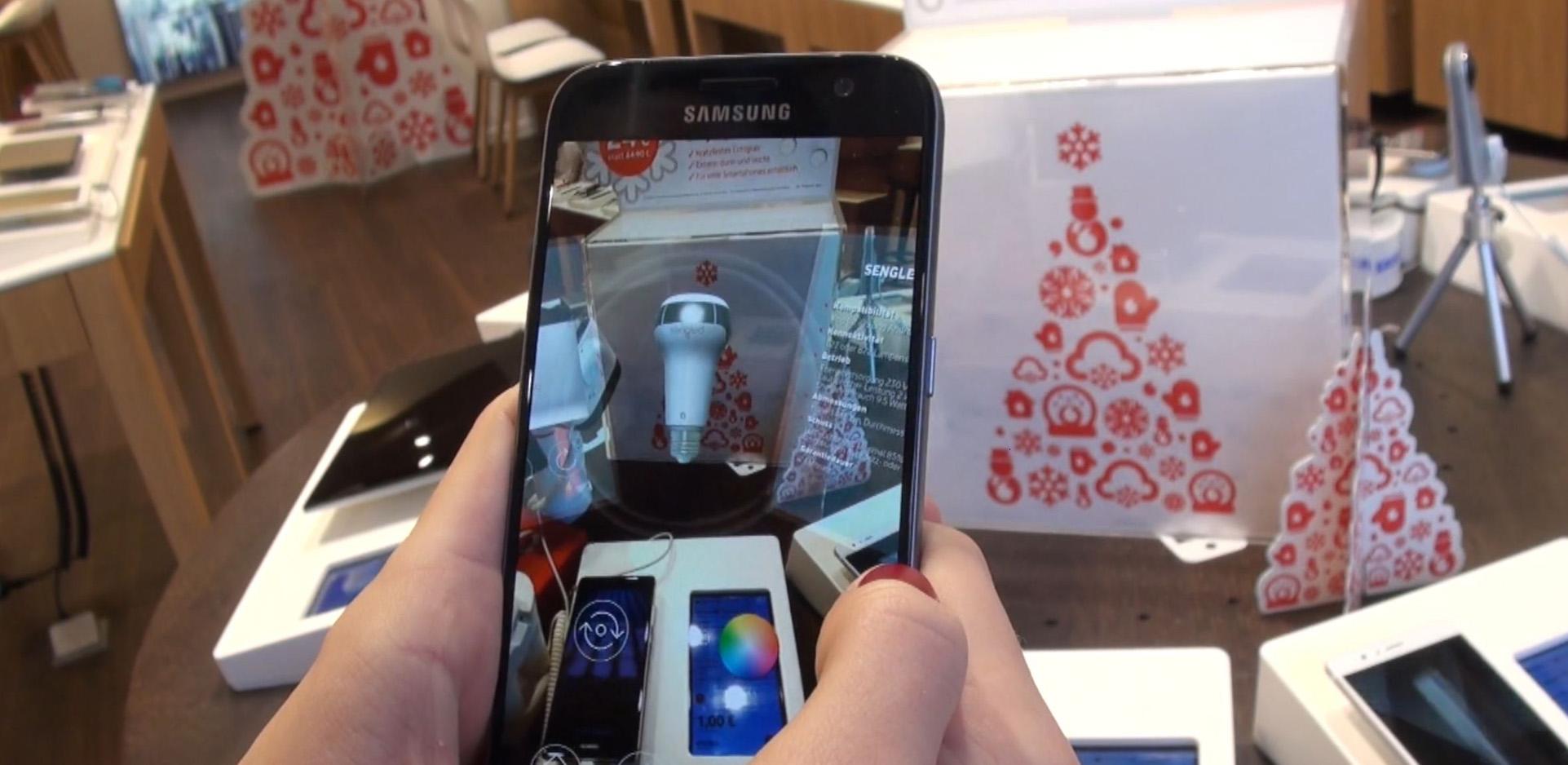 Vodafone – Virtual Shelf