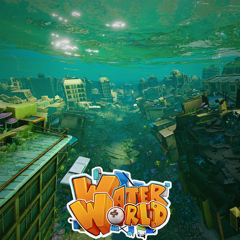 WaterWorld - Submerged City Level