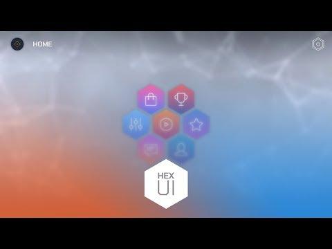 Hexart UI - Complete Main Menu