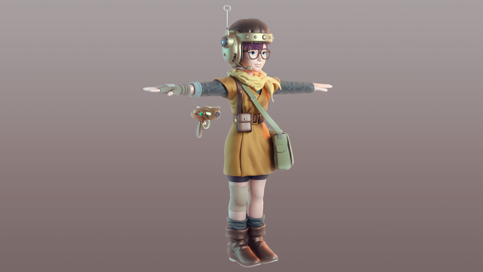 Lucca - Fan Art Model WIP