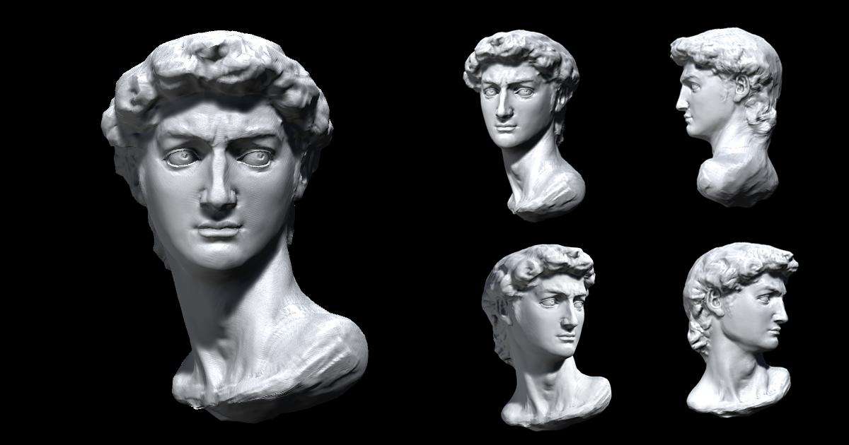Classical David Sculpture Record