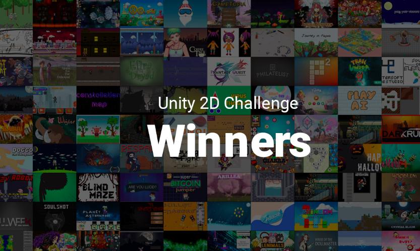 Unity 2D开发挑战赛获奖名单