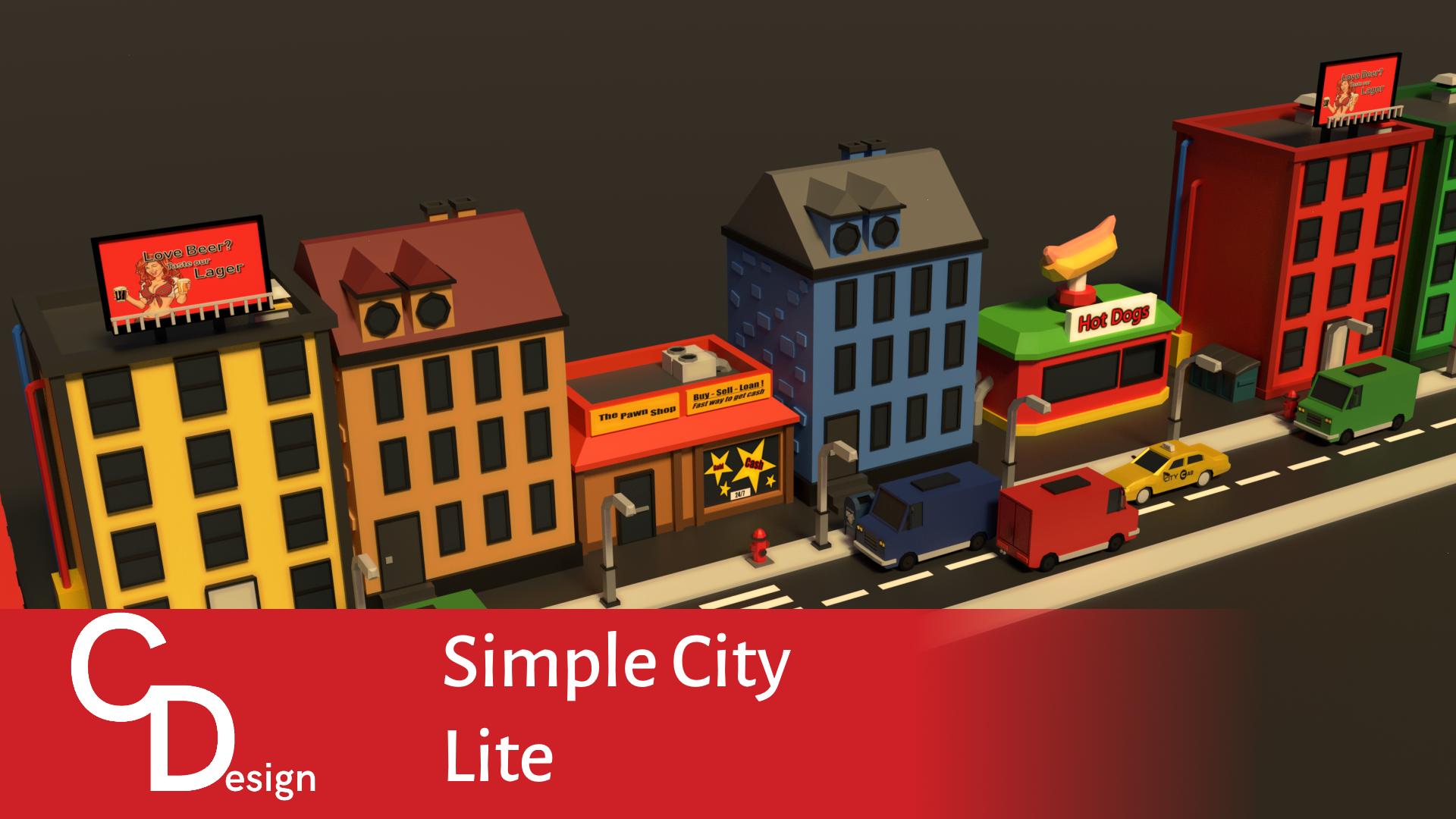 Free Simple City