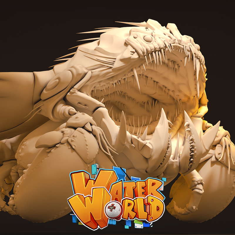 WaterWorld - Datrang High Poly Model