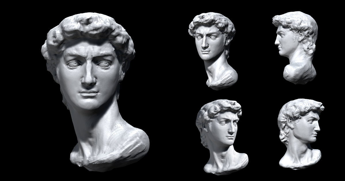 Classical David Sculpture