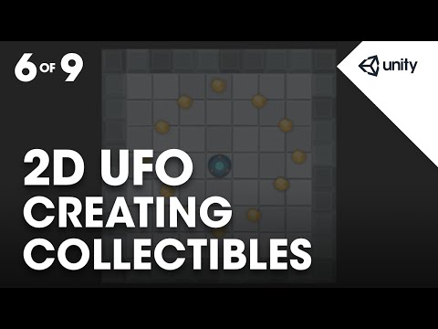 Collectable Objects - Unity Learn