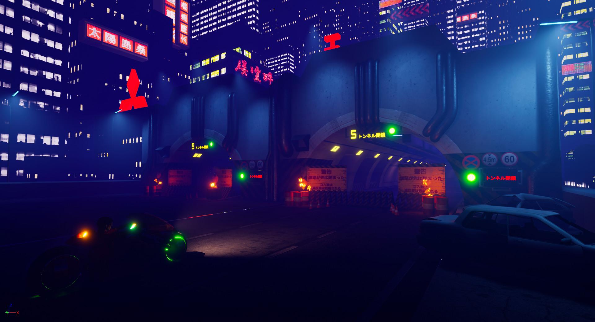 Akira Highway Environment (W.I.P)