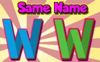 Same Name - Word Game