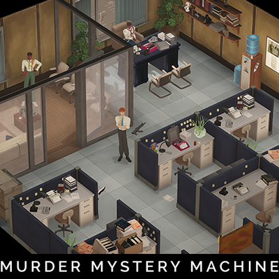 Newspaper Office Layout 3 - Murder Mystery Machine