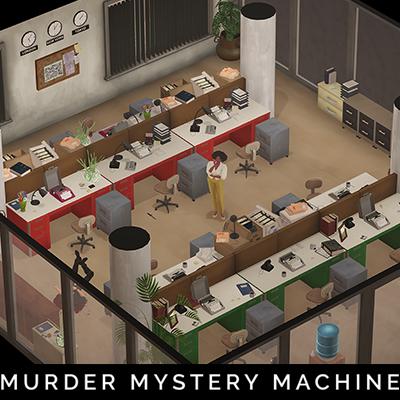 Newspaper Office Layout 2 - Murder Mystery Machine