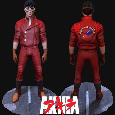 Kaneda from Akira Fanart
