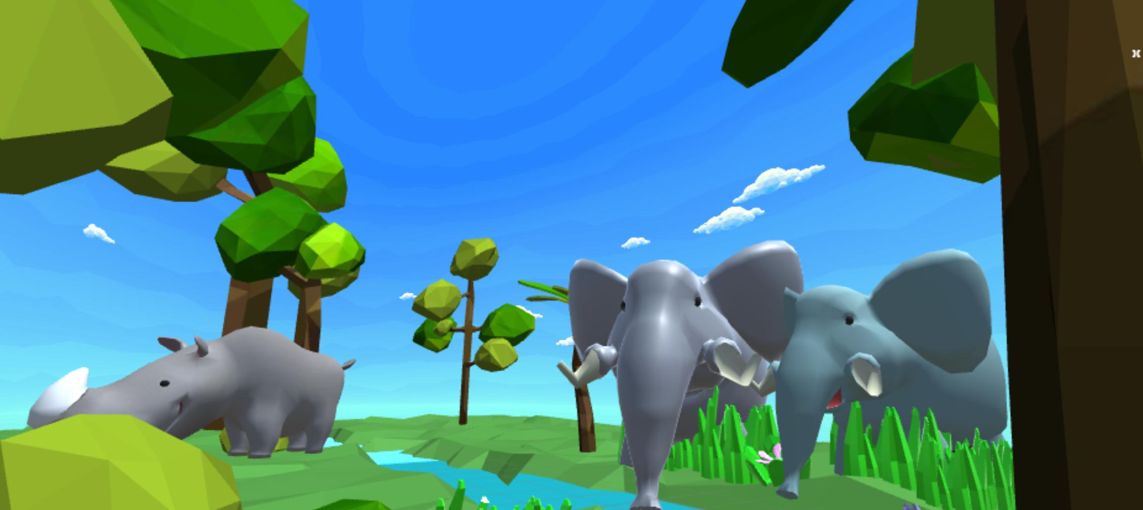 Noah's Park - AR portal to a new world
