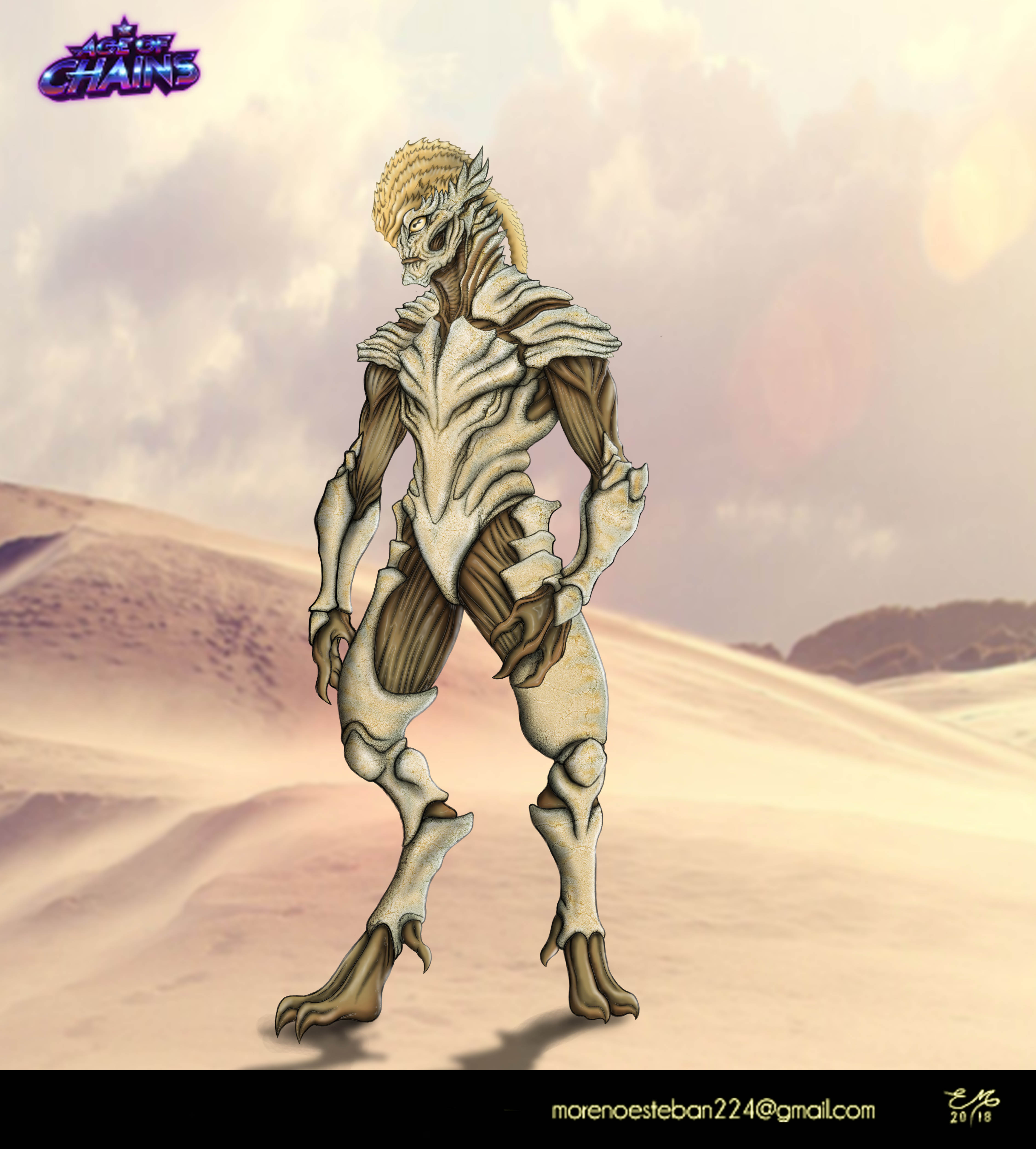 Insectoid Alien Race 3